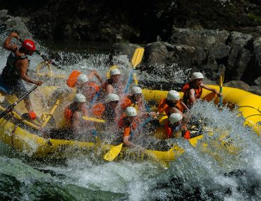 Whitewater Action on the Clearwater River