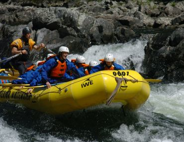 Whitewater Rafting on the Clearwater River