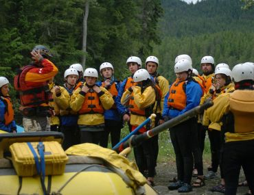 Rafting Safety Briefing