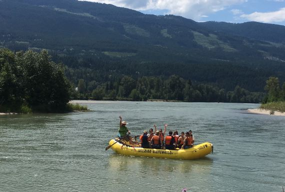 River Float Trip in BC